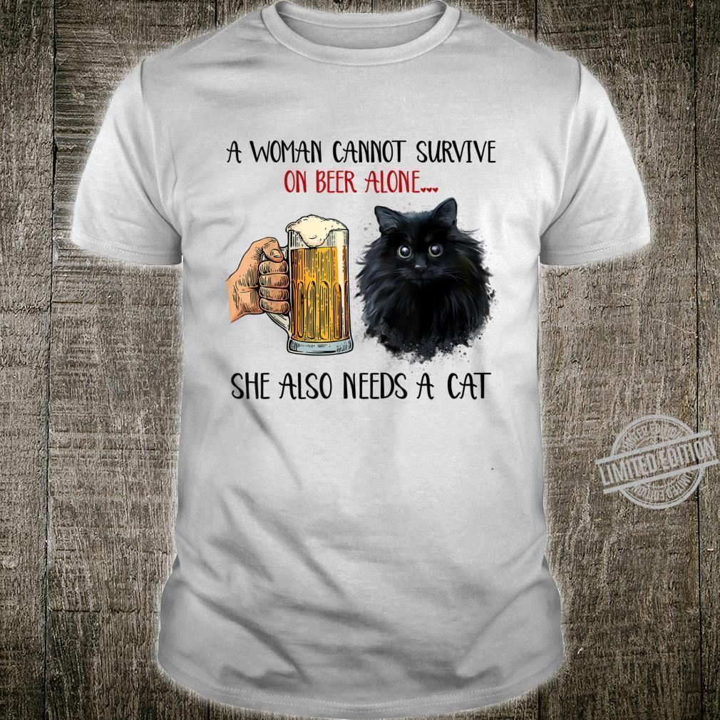 Black Cat Kitty Kitten Beers Apparel Shirt