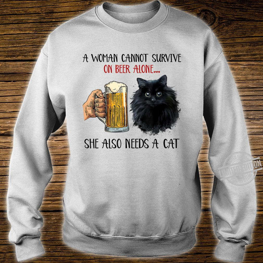 Black Cat Kitty Kitten Beers Apparel Shirt sweater