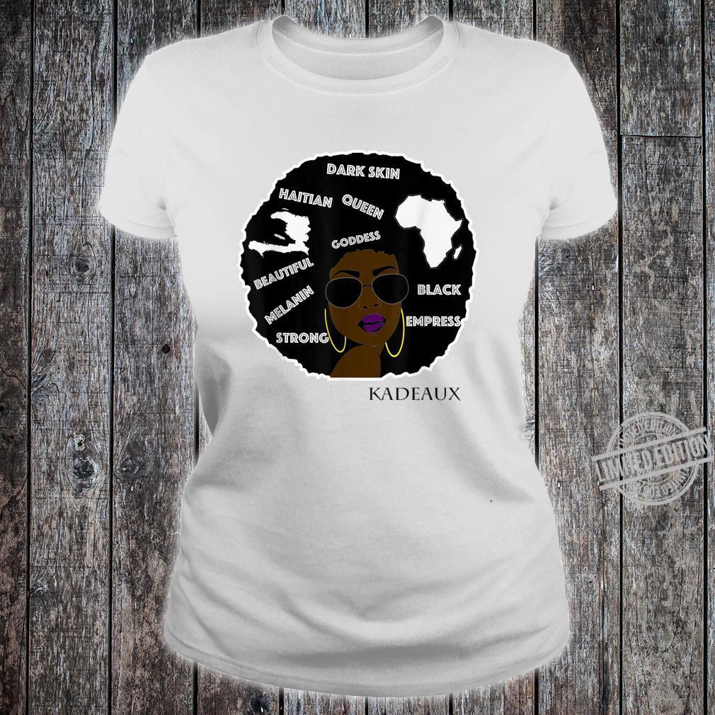 Brown Skin Girl Shirt ladies tee
