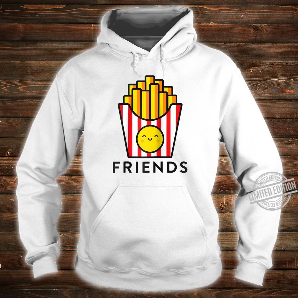 Burger Fries Best Friend Matching BFF Outfits Tee Shirt hoodie