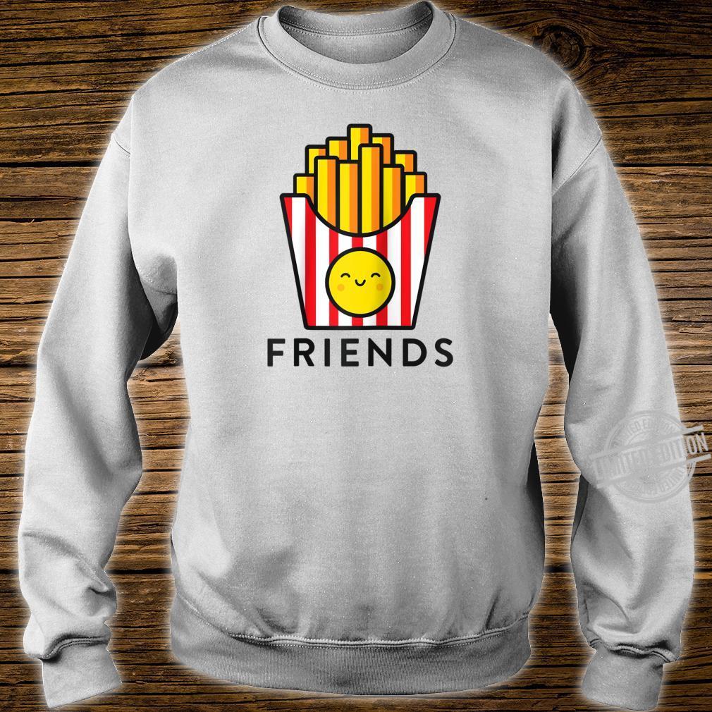 Burger Fries Best Friend Matching BFF Outfits Tee Shirt sweater