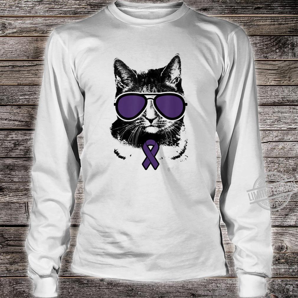 Cat Epilepsy Awareness, Epilepsy Awareness Shirt long sleeved