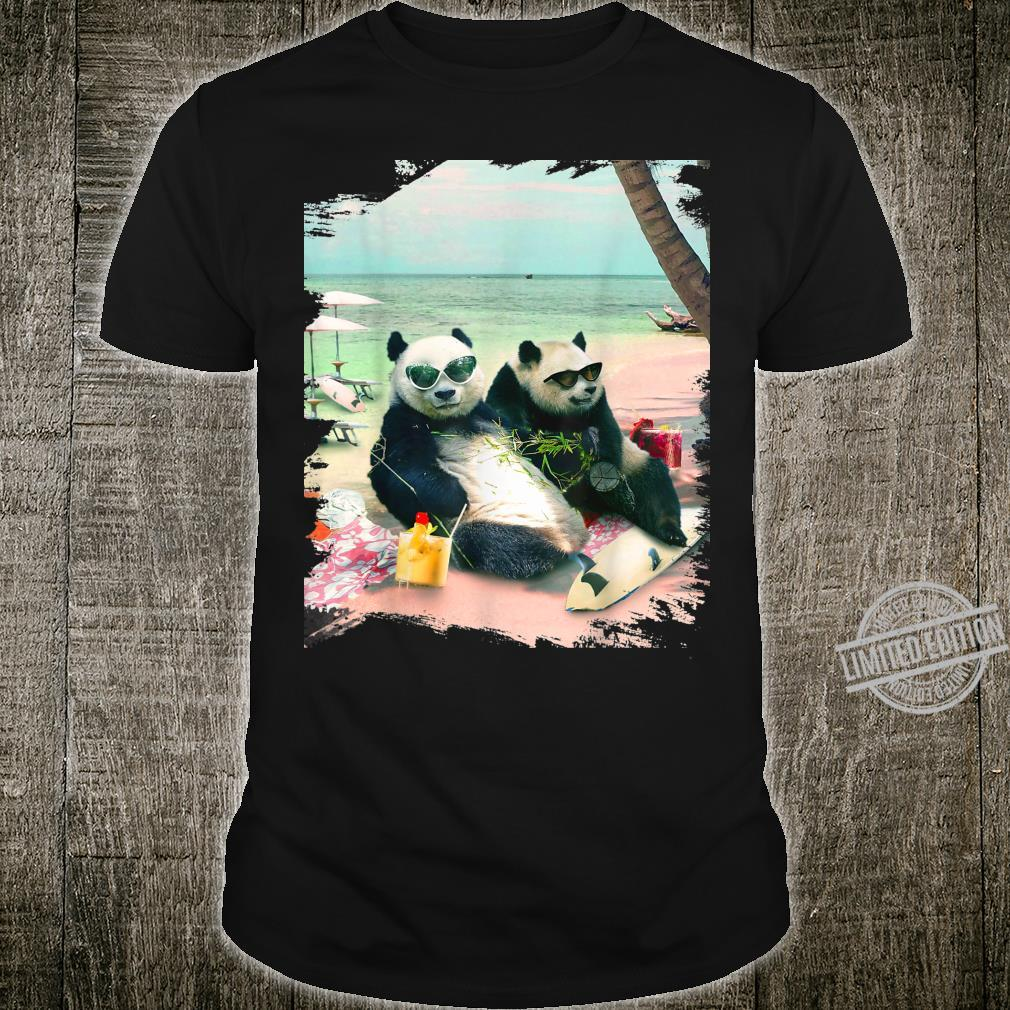 Funny Panda Beach Shirt