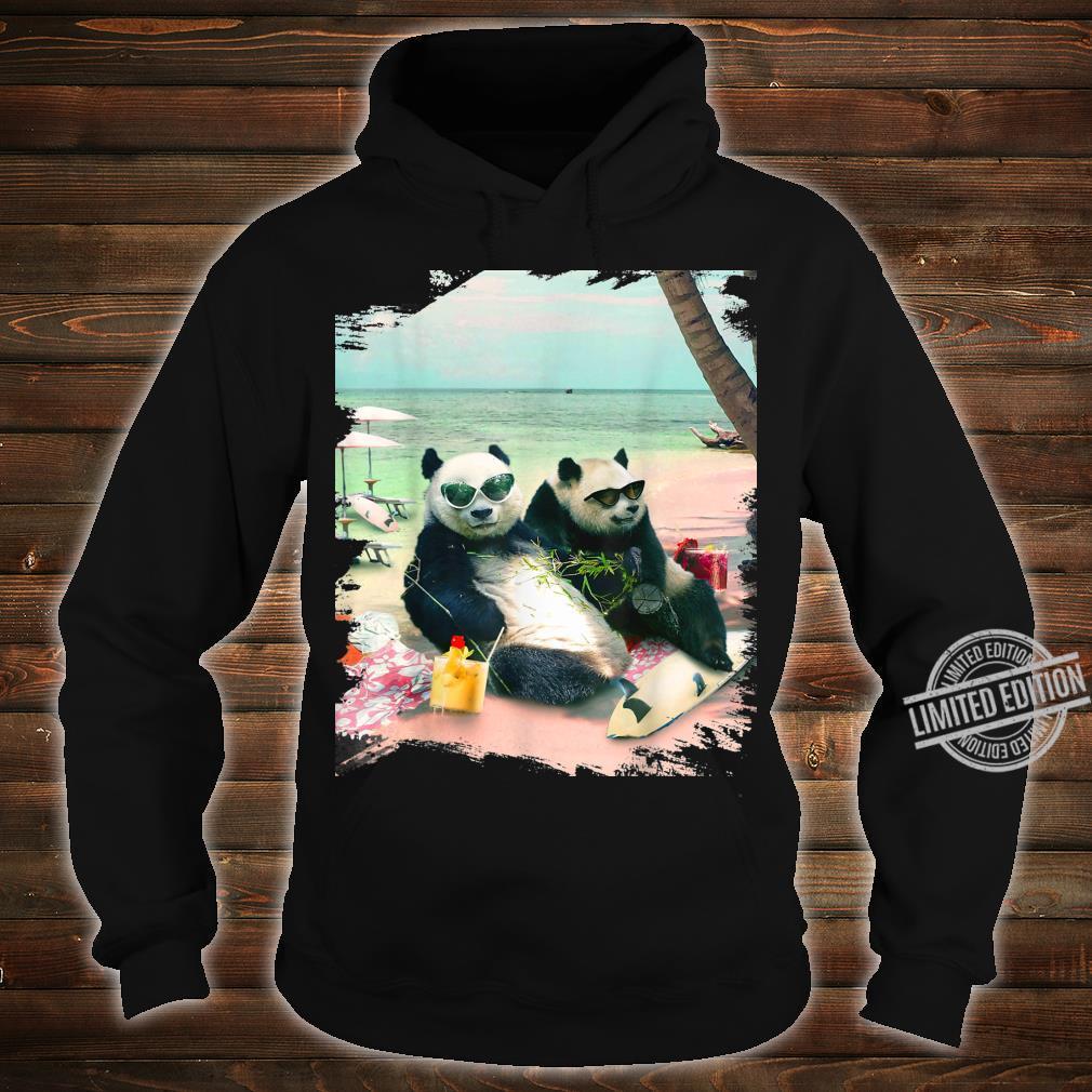 Funny Panda Beach Shirt hoodie