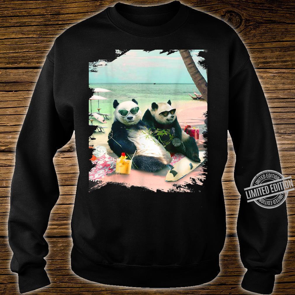 Funny Panda Beach Shirt sweater