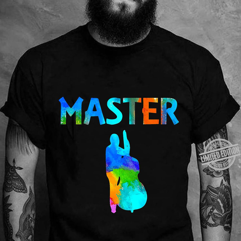Master Guitar Bass Shirt